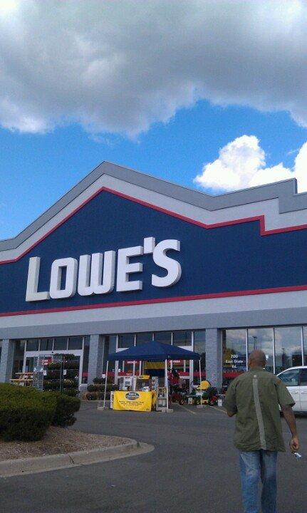 Lowe's 7130 East State Road, Rockford