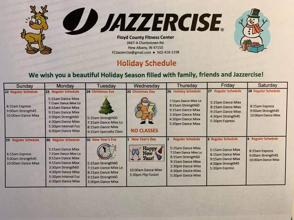 Jazzercise 2667 Charlestown Rd Suite A, New Albany