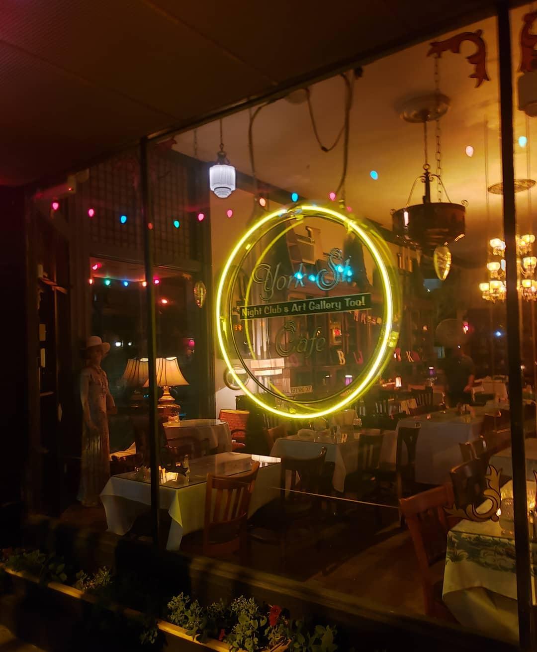 York St. Cafe 738 York St, Newport