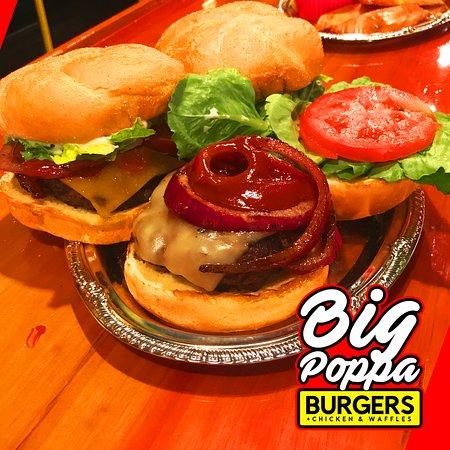 Big Poppa Burgers Chicken & Waffles