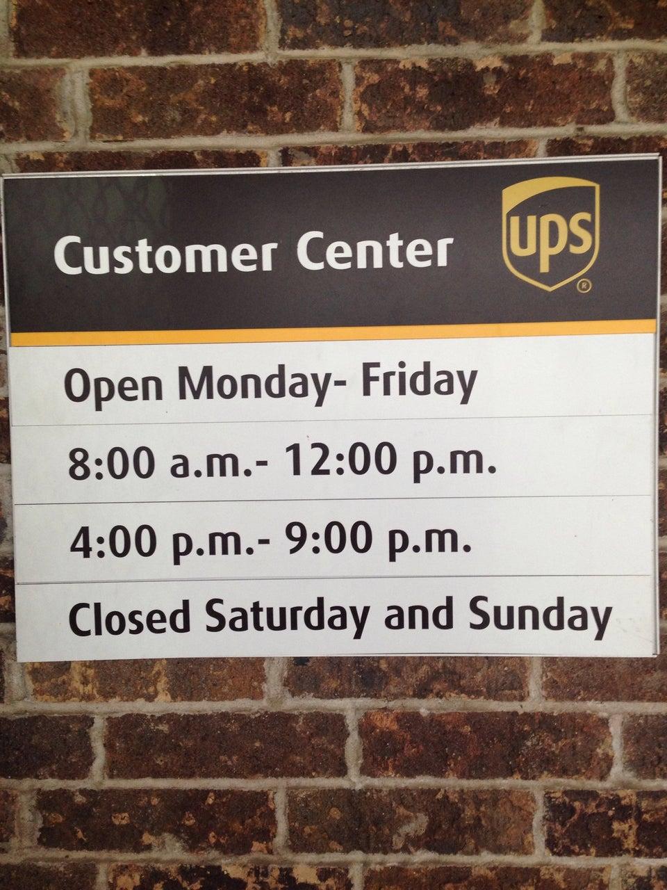 UPS Port Allen