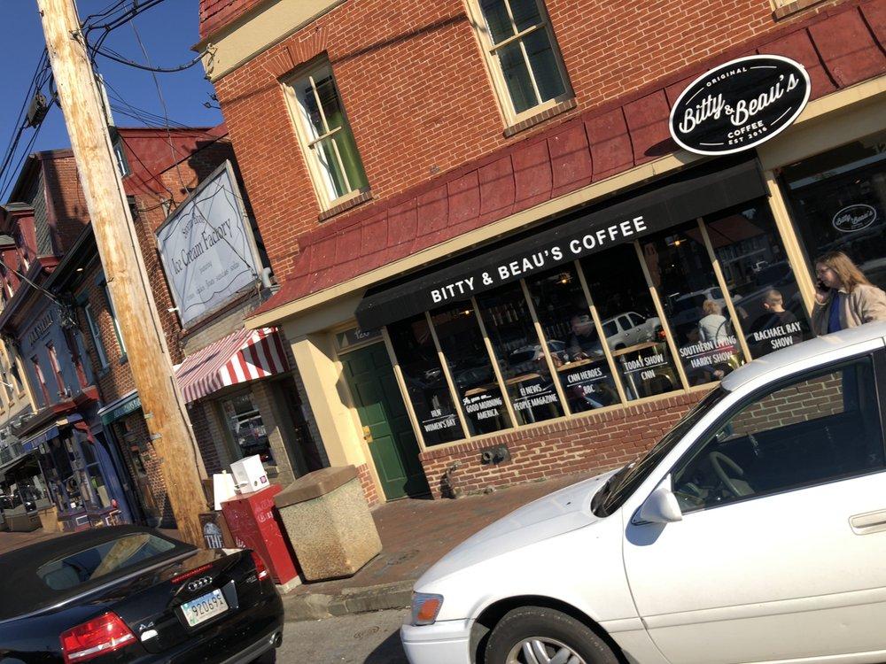 Bitty & Beau's Coffee 124 Dock St, Annapolis