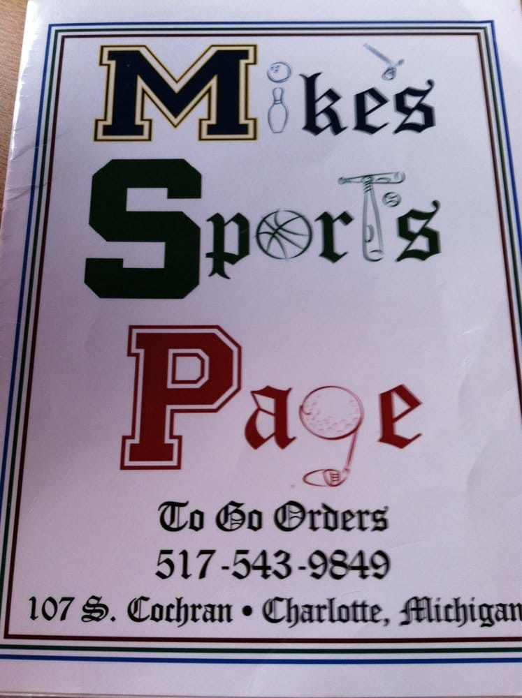 Mike's Sports Page
