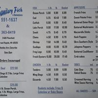 Sanitary Fish & Marketplace