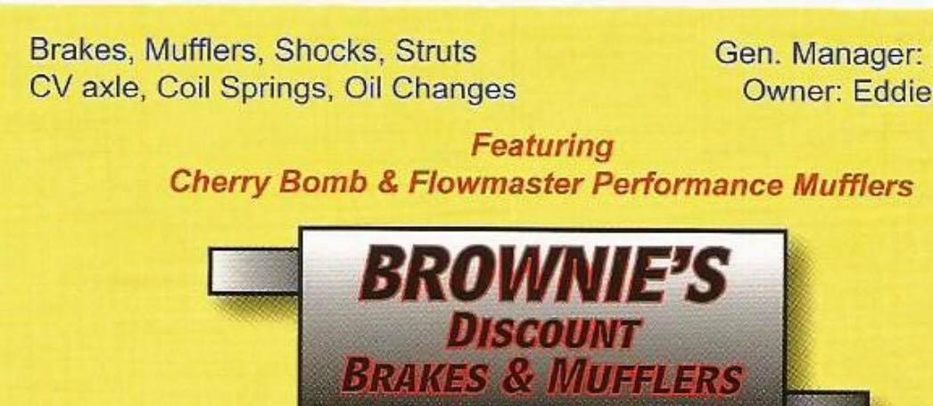 Brownie's Muffler Service Inc.