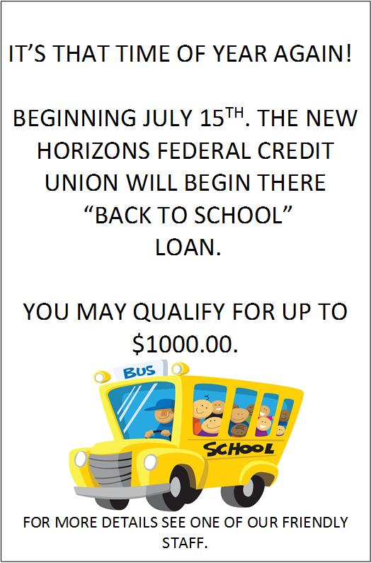 New Horizon's Credit Union 7290 US-45 ALT, West Point