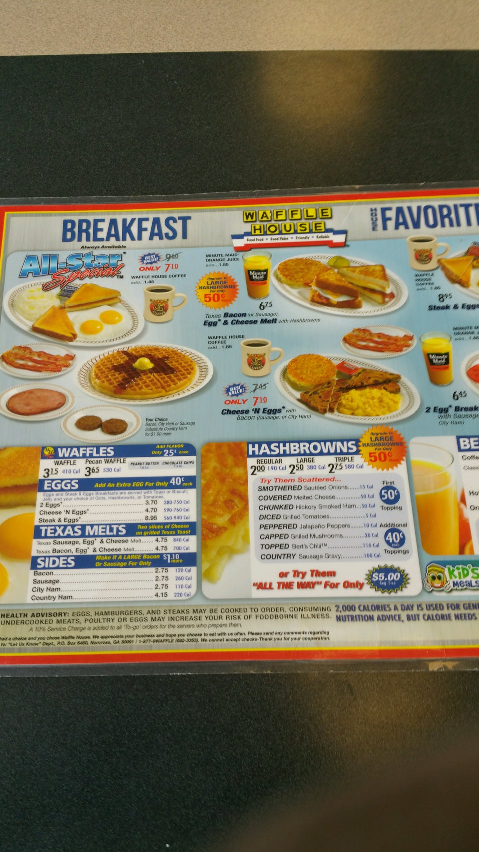 Waffle House 1315 Hwy 45 S, West Point