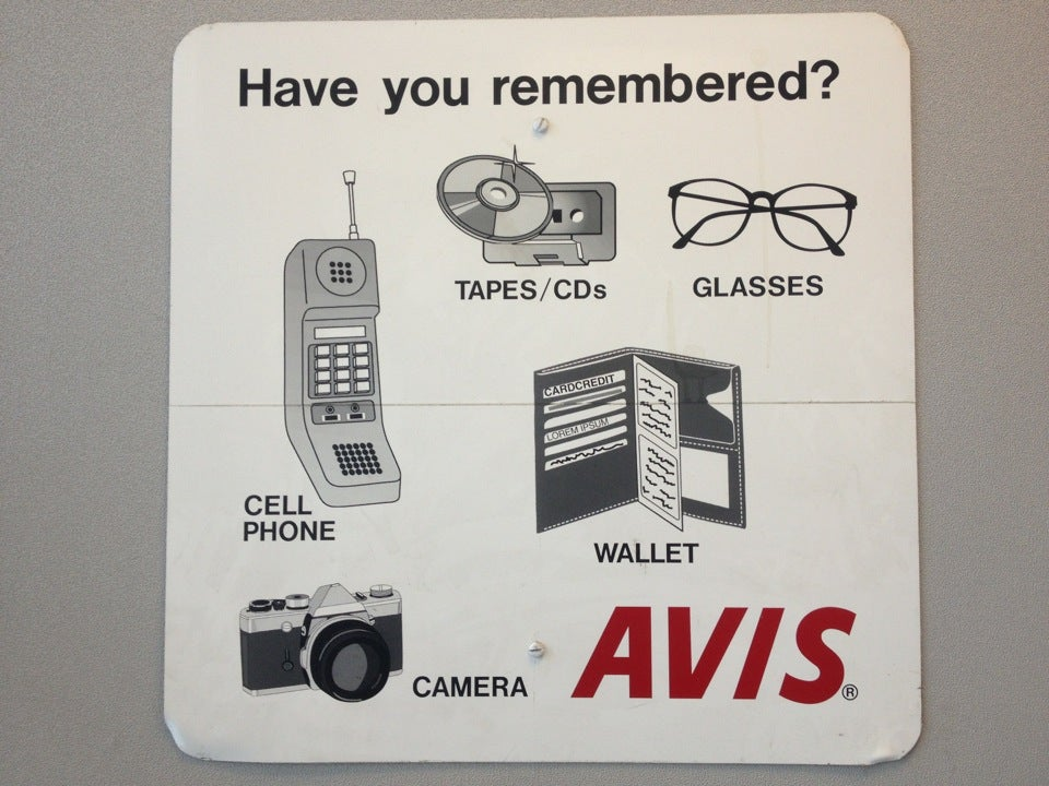 Avis Rent A Car 3 South Tunnel Road Location 141, Asheville