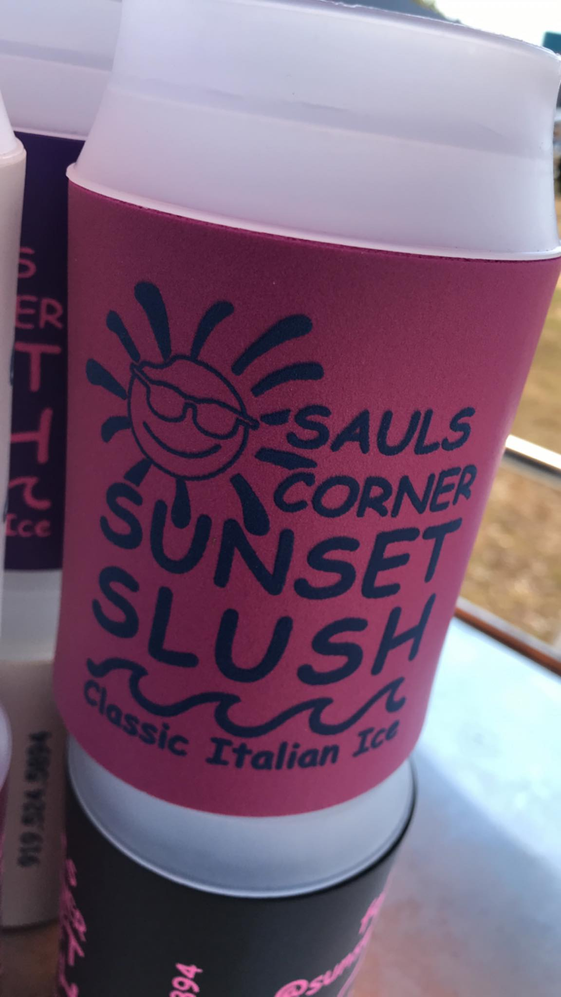 Sunset Slush at Sauls Corner 3340 Benson Rd, Garner