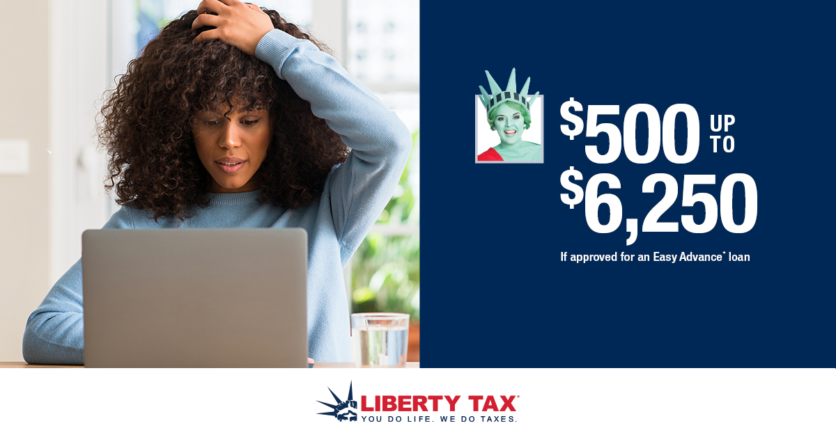 Liberty Tax Service 2001 Wide waters Pkwy, Knightdale