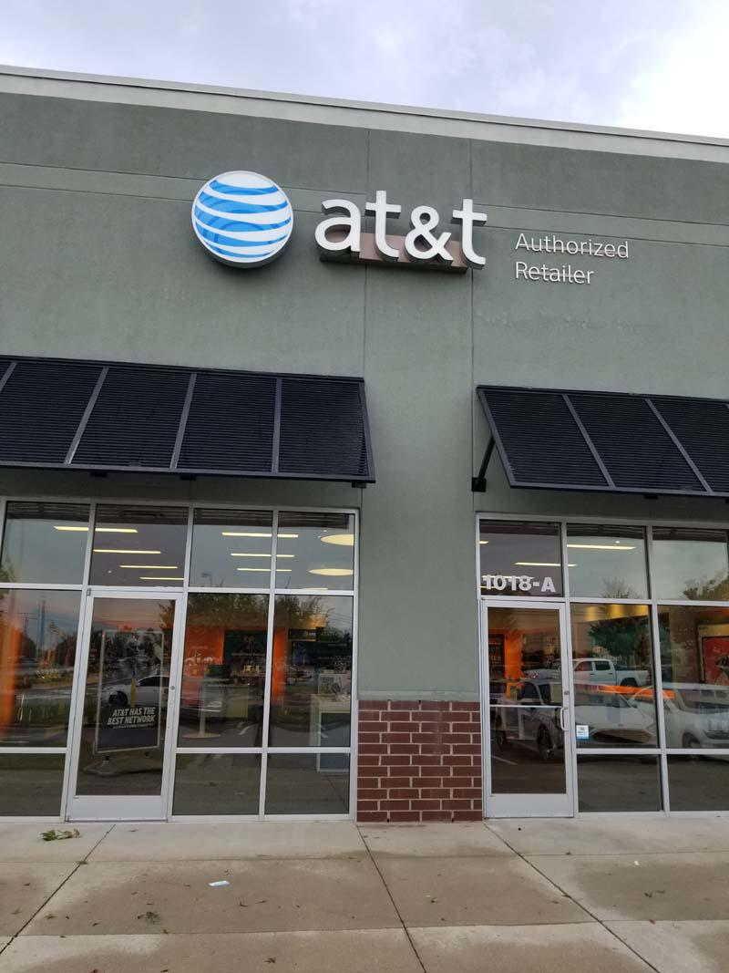 AT&T 1018 Shoppes At Midway Dr Suite A, Knightdale