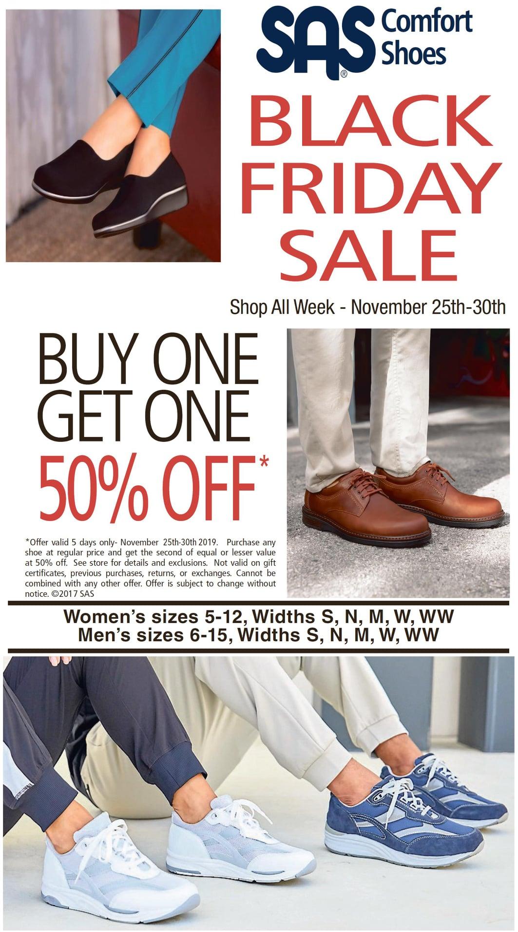SAS Shoes 147 Jonestown Rd, Winston-Salem