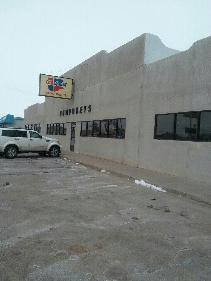 Carquest Auto Parts - Humphreys Auto Supply 413 W 1st St, Ogallala
