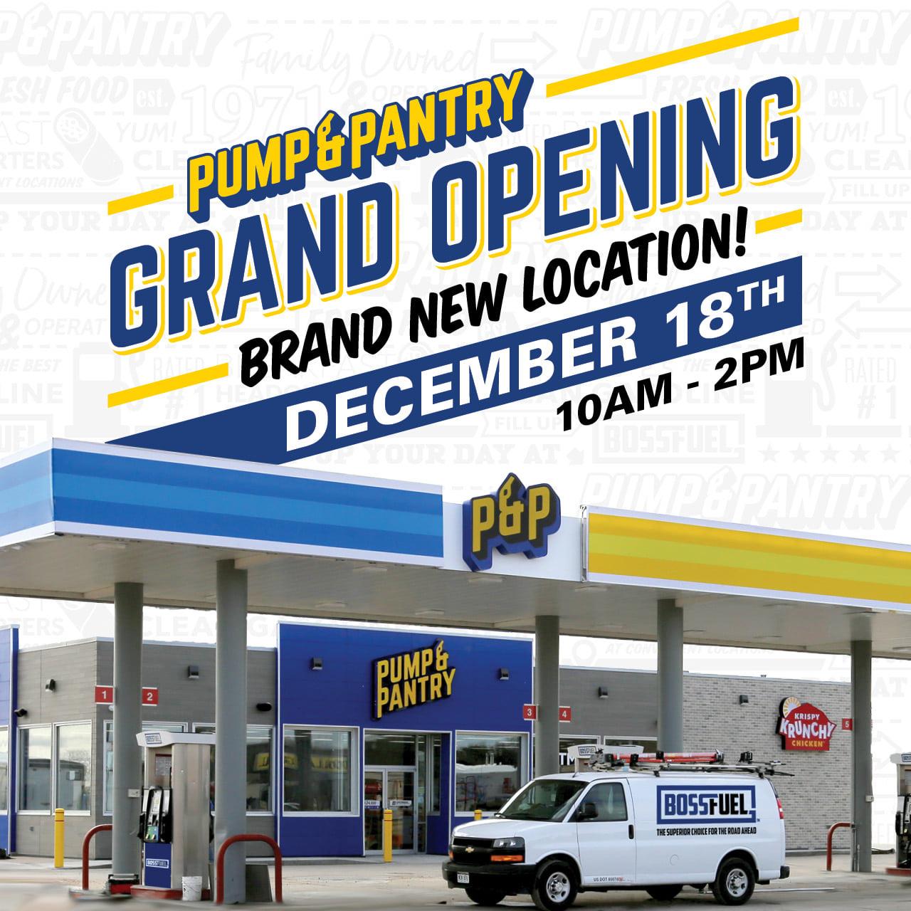 Pump & Pantry 306 E 1st St, Ogallala