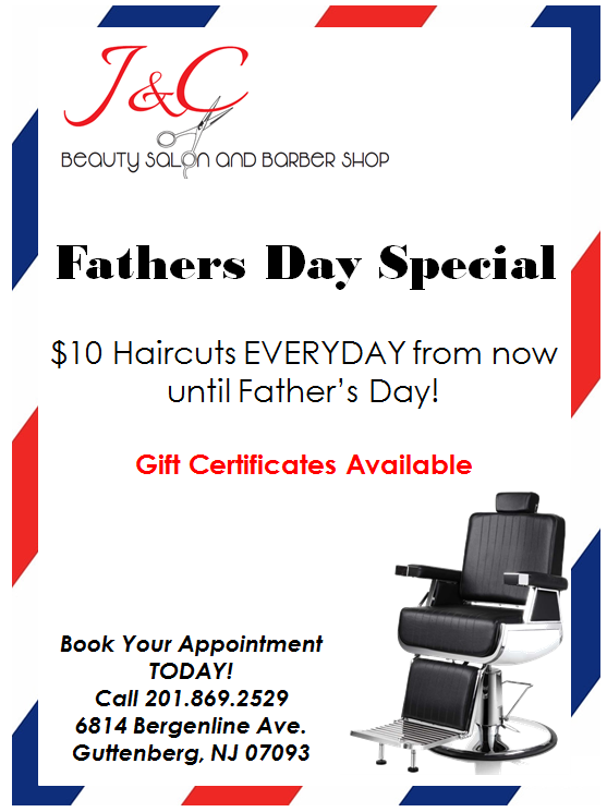J & C Beauty Salon And Barber Shop 6814 Bergenline Ave, Guttenberg