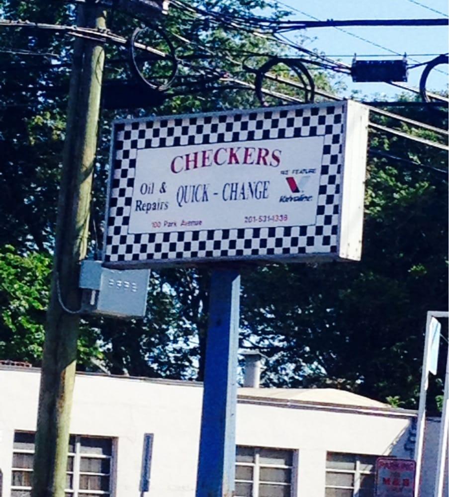 Checkers Oil Service 100 Park Ave, Lyndhurst
