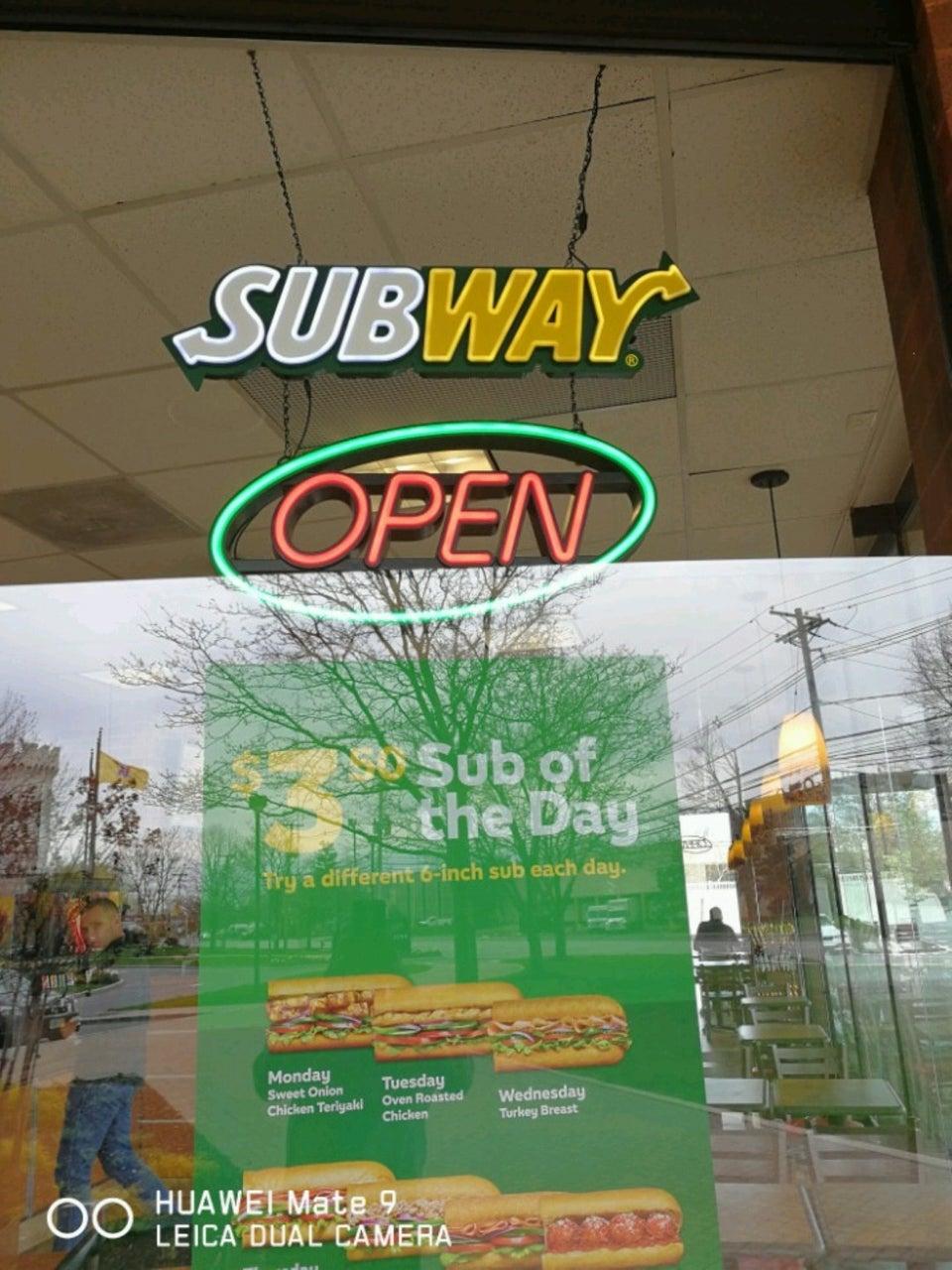 Subway 9 Polito Ave Suite 104, Lyndhurst