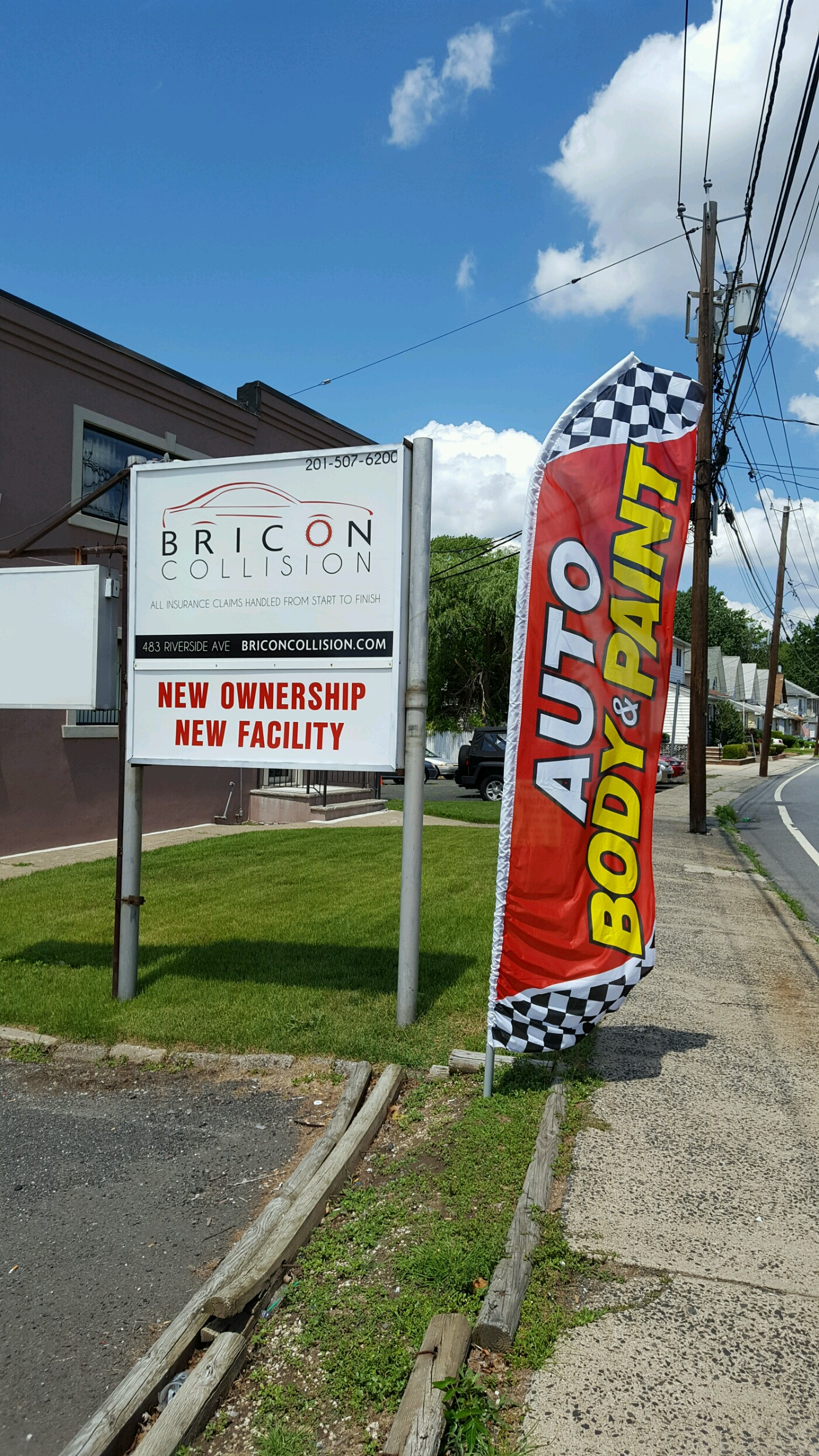 Bricon Collision, LLC 483 Riverside Ave, Lyndhurst
