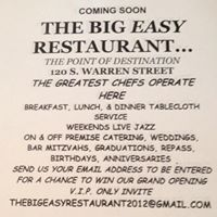 The Big Easy of Trenton Restaurant