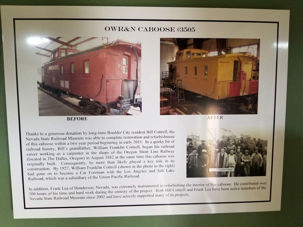 Nevada State Railroad Museum Boulder City 601 Yucca St, Boulder City