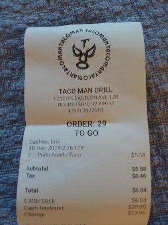 TacoMan Grill