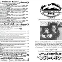 Nik-N-Willies Pizza and Deli