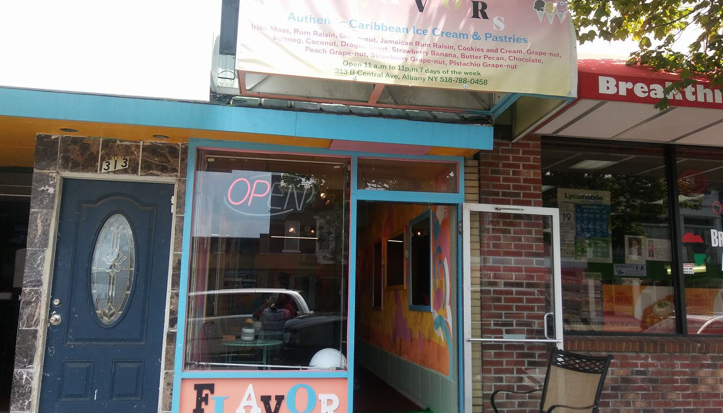 FLAVORS Authentic Caribbean Ice Cream & Pastries 313 Central Ave b, Albany
