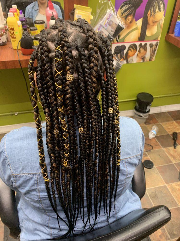 Assana African Hair Braiding Salon 382 E 188th St, Bronx