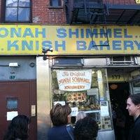 Yonah Schimmel's Knish