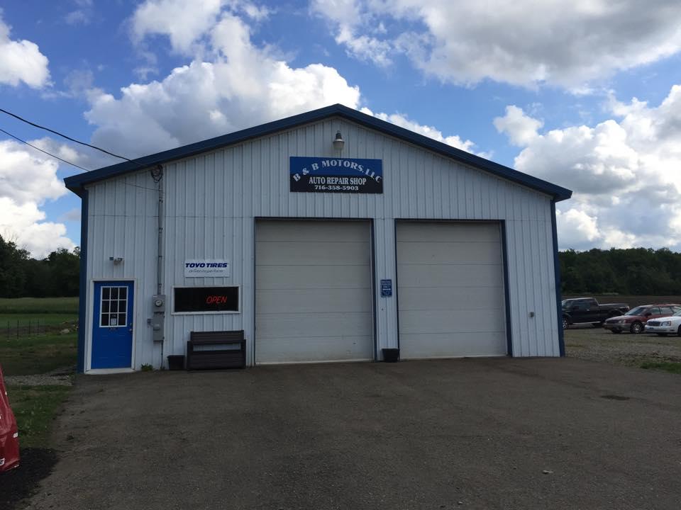 B&B MOTORS LLC 12407 NY-394, Randolph