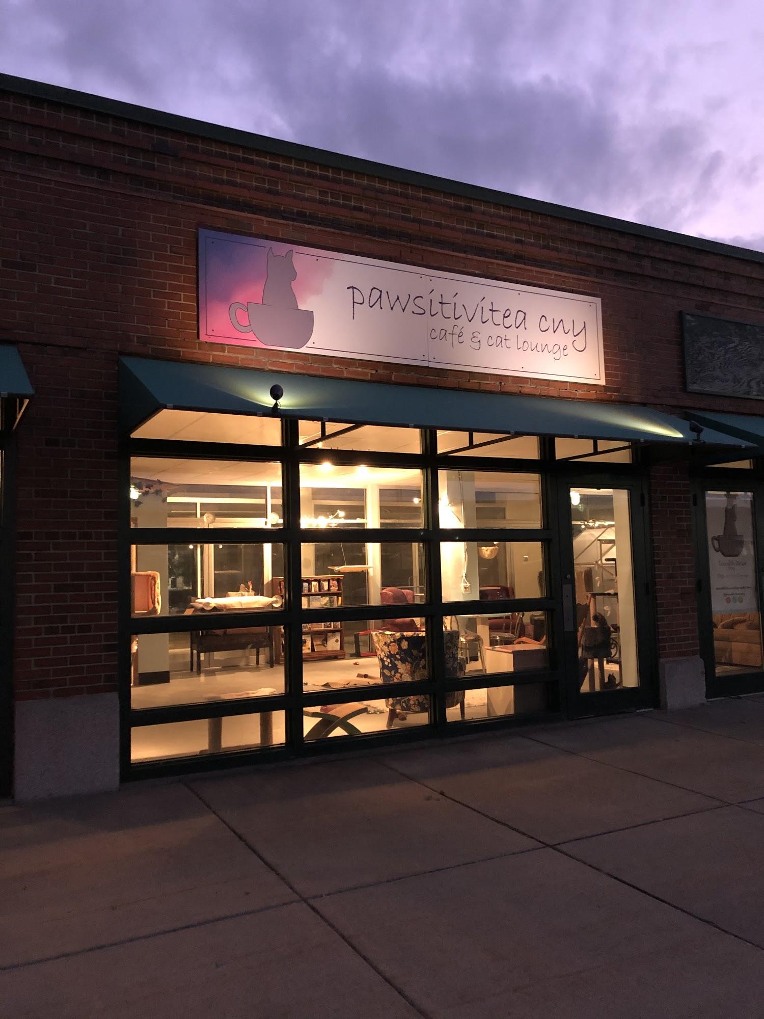 Pawsitivitea CNY Cafe & Cat Lounge 2100 Park St, Syracuse
