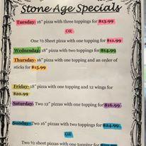 Stone Age Pizza