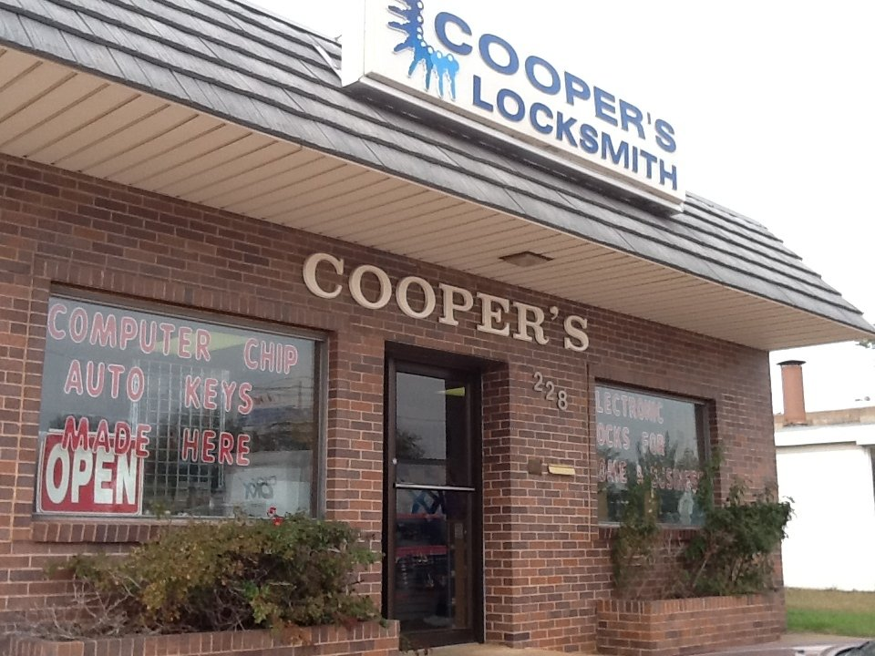 Cooper's Locksmith 228 S Main St, Stillwater