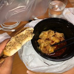 The bun Chinese street food