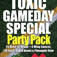 Toxic Wings & Fries