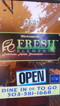 Fresh Elements Restaurant