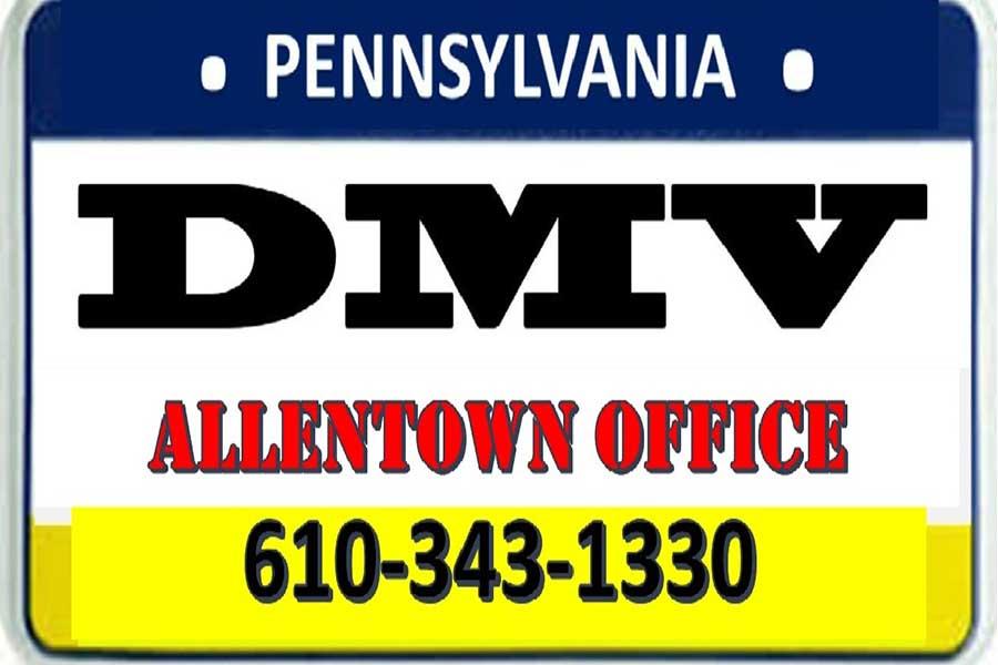 DMV 1033 W Hamilton Street, 2nd Floor Suite 2-A, Allentown