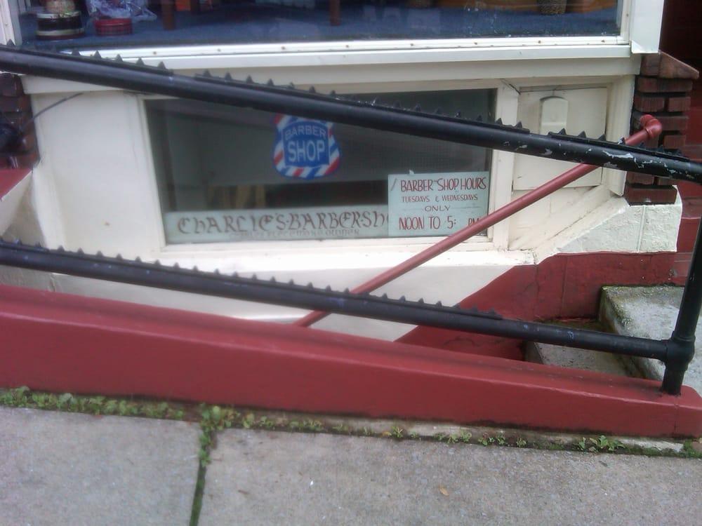 Black Diamond Barber Parlor 224 W High St, Bellefonte
