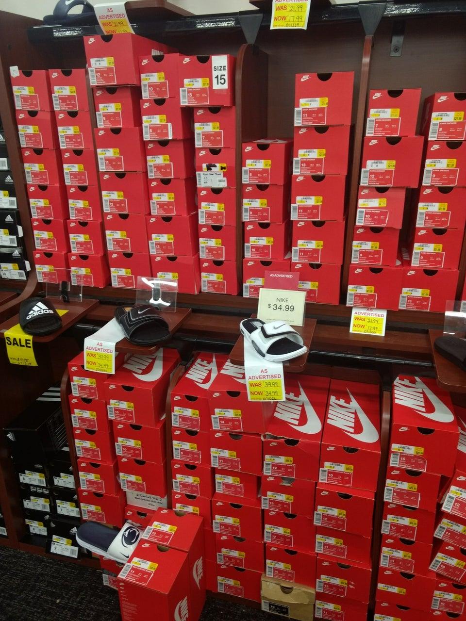 Shoe Show 633 Millcreek Mall Box 102, Erie