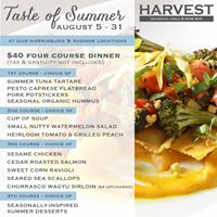 Harvest Seasonal Grill & Wine Bar- Harrisburg