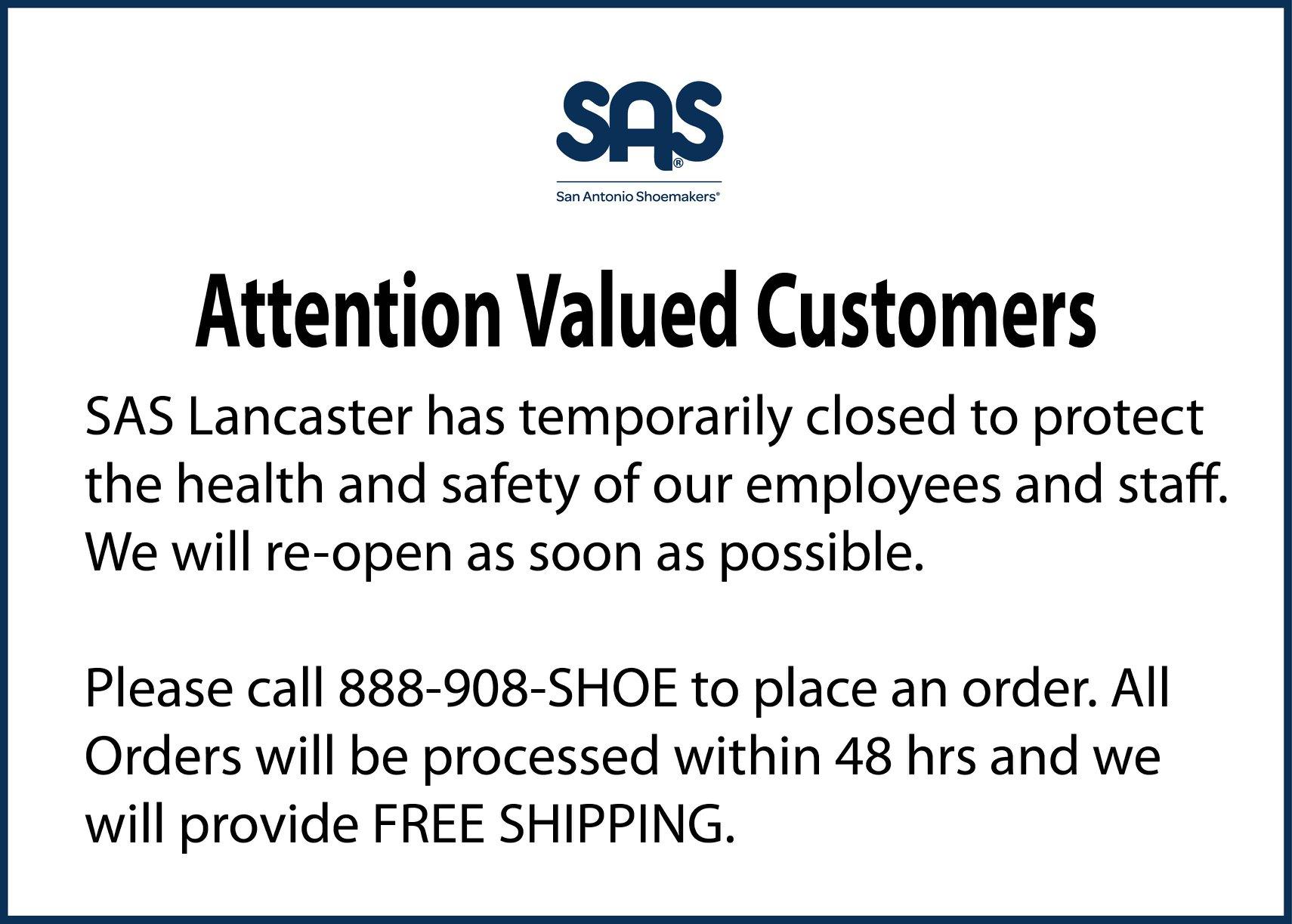 SAS Shoes 1265 Stanley K Tanger Dr, Lancaster