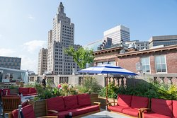 Rooftop at the Providence G
