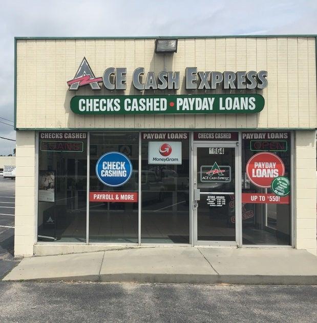 ACE Cash Express 1604 Sam Rittenberg Blvd, Charleston