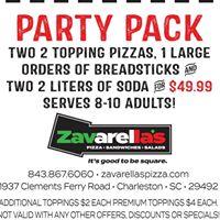 Zavarella's Pizza & The Veranda @ Zavs