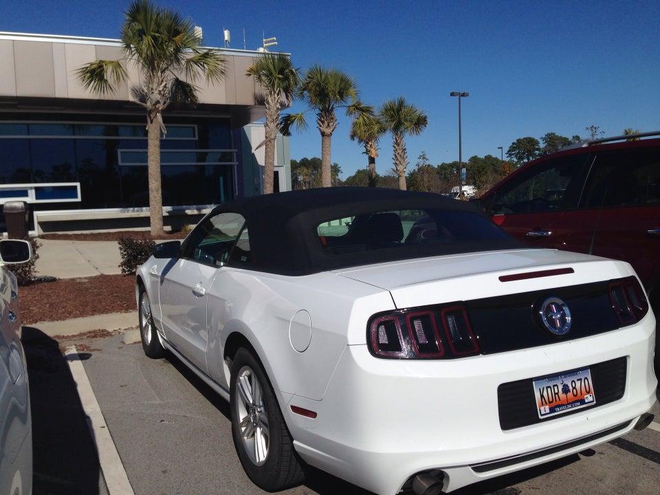 Avis Rent A Car Myrtle Beach