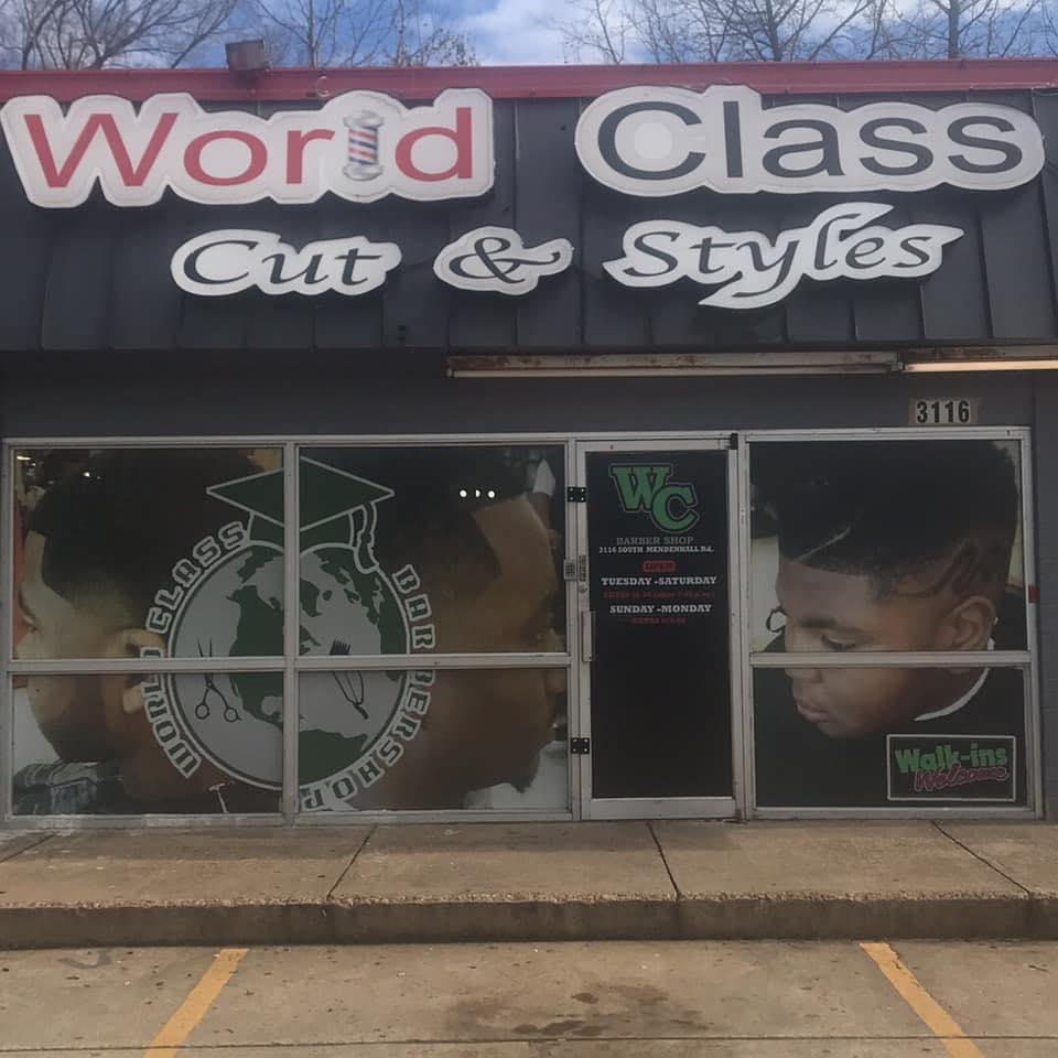 World Class Cuts 3116 S Mendenhall Rd, Memphis
