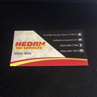 Hedam Tax Service