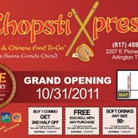 Chopstick Express