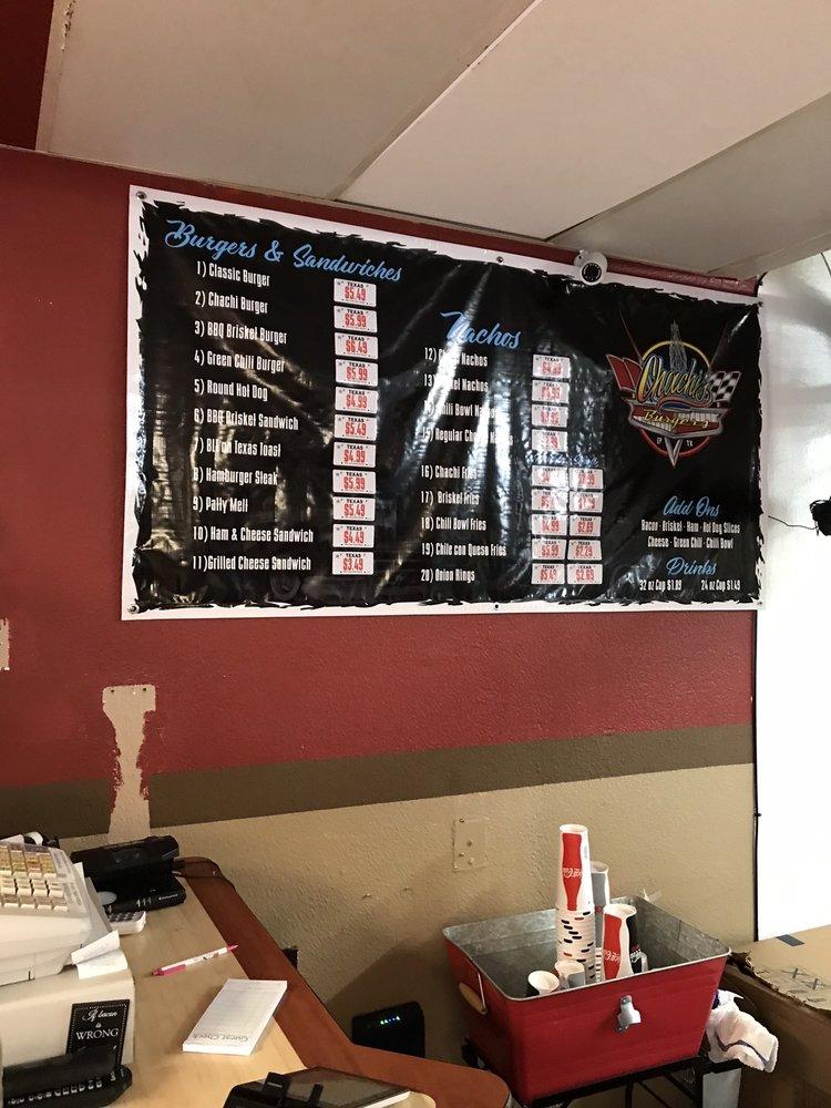 Chachi's Burgers 10176 McCombs St, El Paso