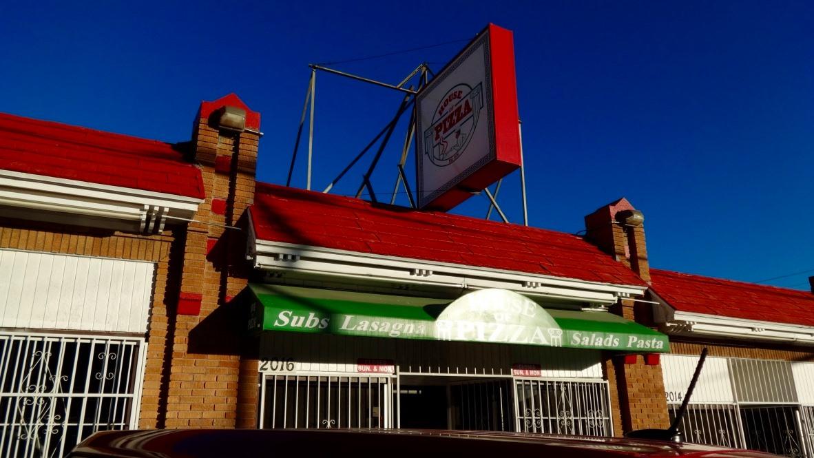 House of Pizza 2016 N Piedras St, El Paso